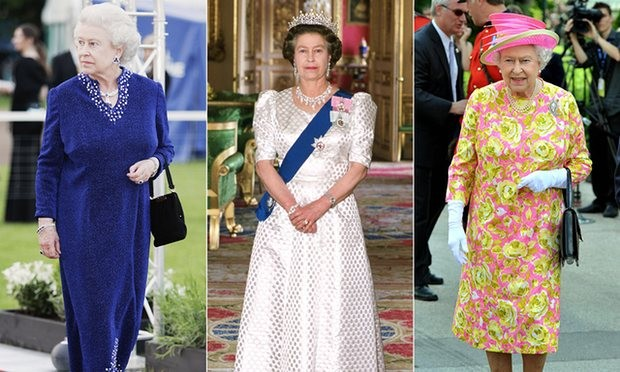 Fashion fit for a Queen. Composite: Getty