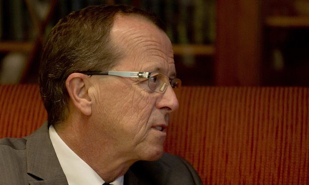 The UN envoy for Libya, Martin Kobler, in Cairo, Egypt, on Thursday. Photograph: Amr Nabil/AP