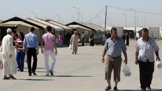 The camp in Kilis houses 11,500 Syrian refugees, and many more live in the town itself