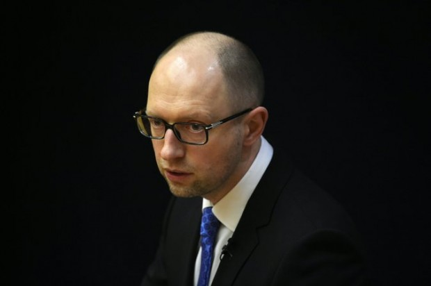 Arseniy P. Yatsenyuk last year. On Sunday, he signaled that he would attempt to smooth over cracks in Ukraine's leadership after his resignation. Credit Tobias Schwarz/Agence France-Presse — Getty Images