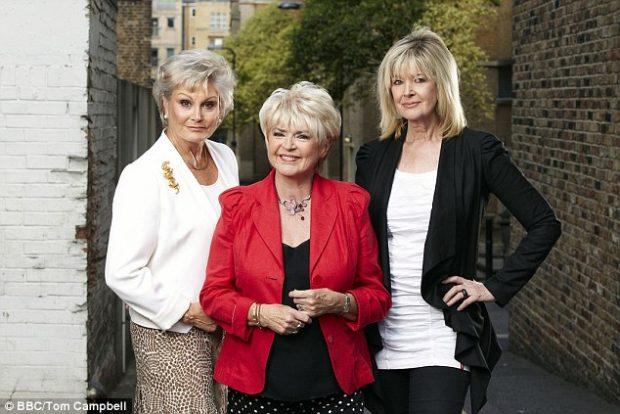 Rip Off Britain: Food presenters Angela Rippon (left), Gloria Hunniford (centre) and Julia Somerville (right)