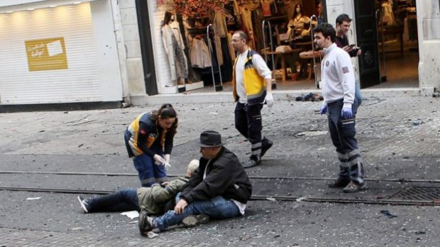 A suicide bomber targeted a shopping centre in Istanbul last month