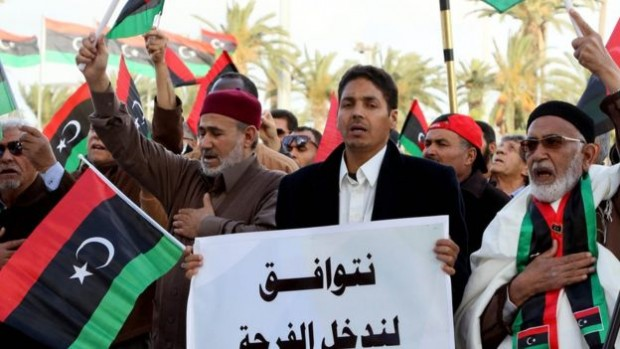 There have been protests this week in Tripoli against the UN-backed unity government