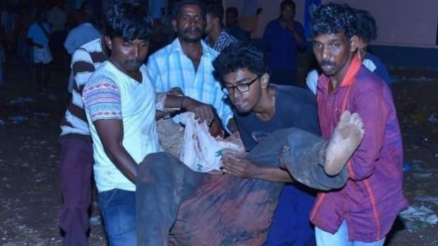 More than 200 people were injured