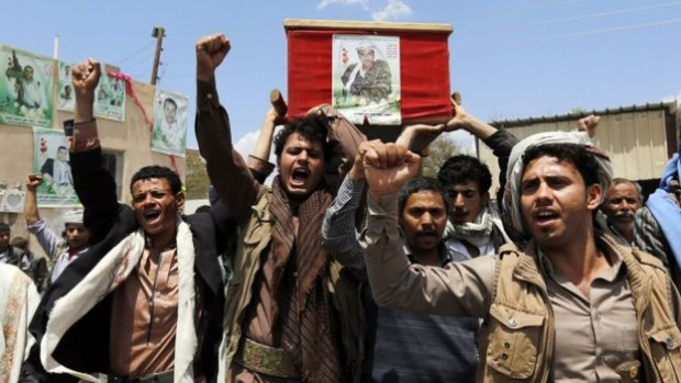 Houthi rebels have taken over the capital Sanaa