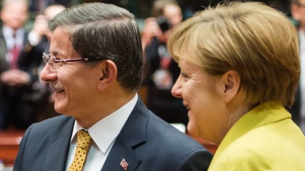 The German chancellor spoke to Turkish PM Ahmet Davutoglu after Boehmermann's poem was broadcast