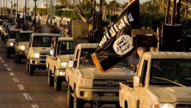 Islamic State militants have captured parts of northern Libya