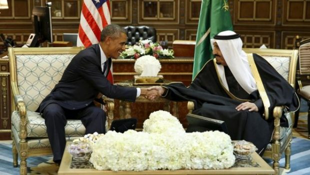 President Obama and King Salman met in January 2015