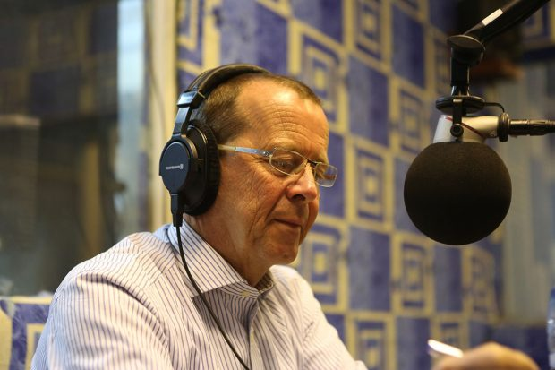 SRSG Martin Kobler appearing in a talk show on Radio Okapi, the UN-sponsored radio in the D.R. Congo. During 60 minutes, Mr. Kobler responded directly to live questions from callers around the country on Friday, 10 January 2014. It was the first participa