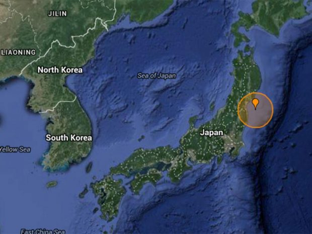 The earthquake follows two serious quakes which took place earlier in April http://earthquaketrack.com/