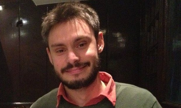 Cambridge PhD student Giulio Regeni was conducting research into labour unions in Egypt. Photograph: Twitter