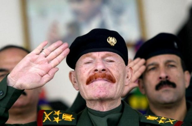 Izzat Ibrahim al-Douri, who had been the most senior aide to Saddam Hussein still on the run in Iraq, has been captured in the town of Tikrit, Iraq's defence ministry said on September 5, 2004.