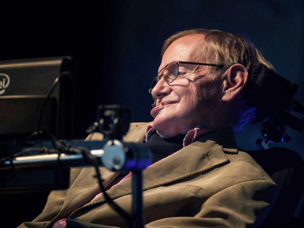 Stephen Hawking is reportedly taking steps to trademark his name Getty