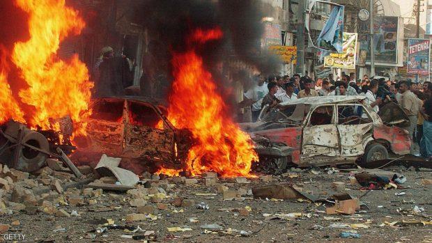 Car Bomb Explodes In Central Baghdad