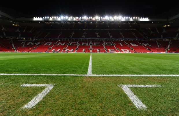 MANCHESTER, ENGLAND - DECEMBER 05:  General View prior to the UEFA Champions League Group H match between Manchester United and CFR 1907 Cluj at Old Trafford on December 5, 2012 in Manchester, England.  (Photo by Laurence Griffiths/Getty Images)