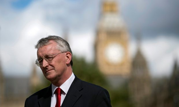 Labour's Hilary Benn said he had lost confidence in the leadership of Jeremy Corbyn. Photograph: Will Oliver/EPA