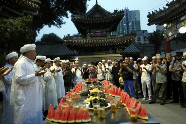 EPA-China-muslims-ramadan-islam-