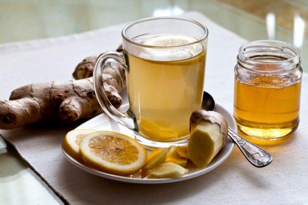 giner root tea