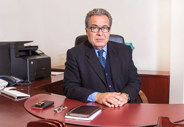 AbdulMagid Breish, Chairman of the Libyan Investment Authority (LIA) in Tripoli