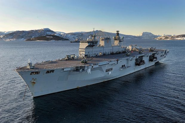 The ship's primary role is to carry an Embarked Military Force (EMF) supported by 12 medium support helicopters, 6 attack helicopters and 4 Landing Craft Vehicle Personnel (LCVP) Mk 5 Landing Craft.  Her secondary roles include afloat training, a limited anti-submarine warfare (ASW) platform and a base for anti-terrorist operations.  HMS Ocean is the sixth ship to bear the name, the most recent being a Light Fleet Carrier also built on the Clyde and commissioned on 30 June 1945.