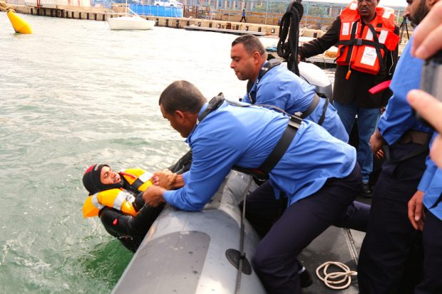 The EU began training Libya's coastguard two years ago, but had to suspend activities due to the security situation (Photo: eeas.europa.eu)