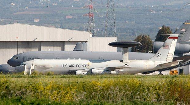 Sigonella Airbase in the southern Italian island of Sicily © Antonio Parrinello / Reuters