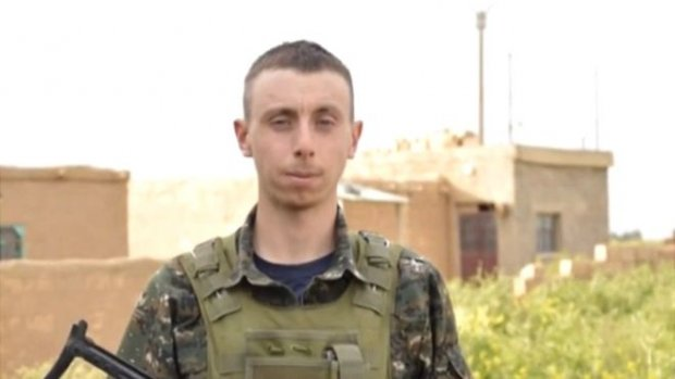 Dean Carl Evans was killed during an offensive by Islamic State Group forces to take back the city of Manbij, according to Kurdish forces