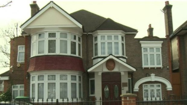 North Korea's London embassy is located on a residential street in Ealing, west London