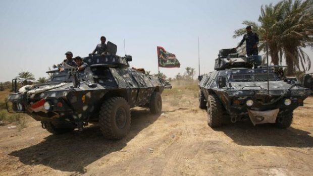 Iraqi forces backed by coalition air strikes retook Ramadi from IS earlier this year