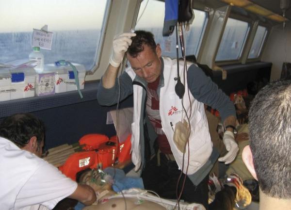 MSF has condemned an armed attack on rescue vessel near the coast of Libya