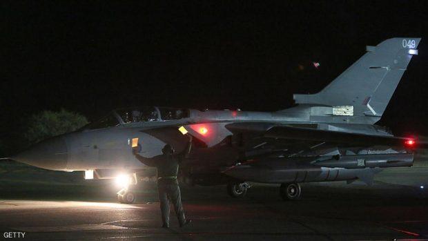 A RAF Tornado leaves RAF Akrotiri . Matt Cardy/Getty Images