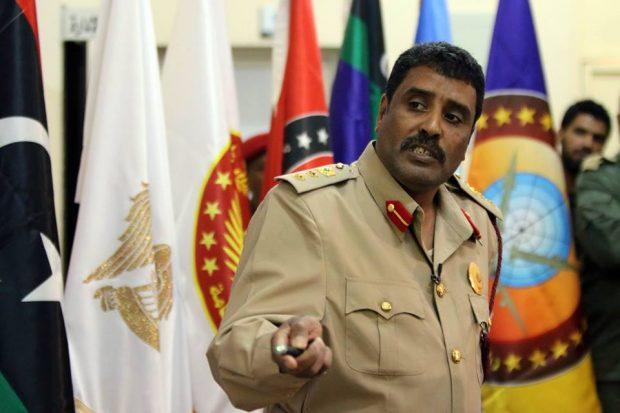 The Spokesman of the Dignity Operation forces led by Khalifa Haftar, Ahmed Al-Mismari