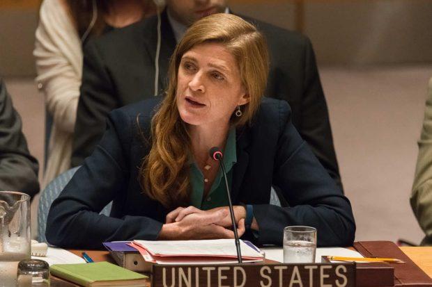 U.S. Ambassador to the United Nations Samantha Power. Photo: Pacific Press/LightRocket via Getty Images