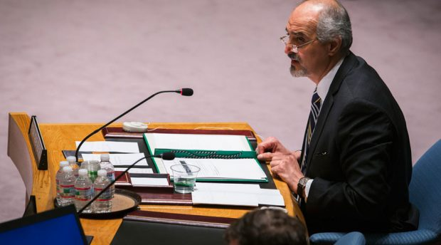 Syria's U.N. Ambassador Bashar Ja'afari © Lucas Jackson / Reuters