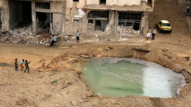 Many Aleppo residents will have to resort to contaminated water, Unicef says