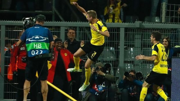 Dortmund needed inspiration and got it late on when Schurrle volleyed in Pulisic's cross.