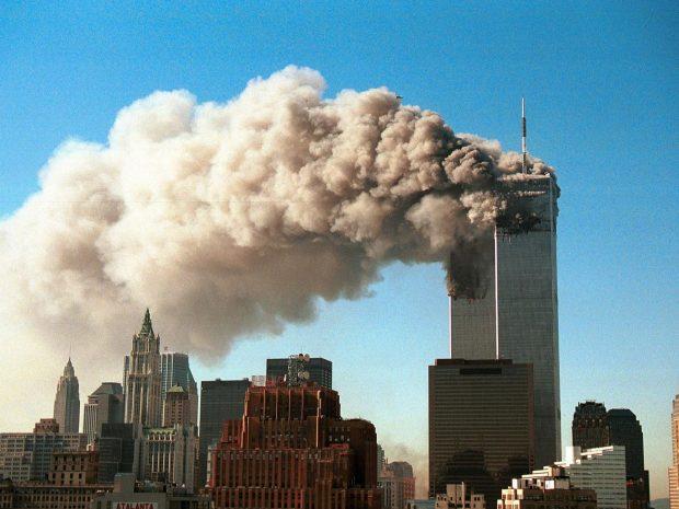 9/11 terror attacks in New York. Getty