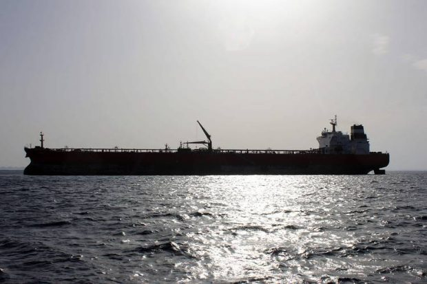 The U.S. and U.K. are looking to revive Libya's oil industry in a move to fund the country's fight against Islamic State. Above, the Malta-flagged Seadelta oil tanker off the coast of Libya's eastern Ras Lanuf port on Sept. 19. PHOTO: GETTY IMAGES