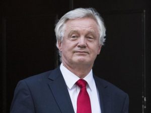 Brexit Secretary David Davis said the Great Repeal Bill will end the authority of European law in Britain (PA)