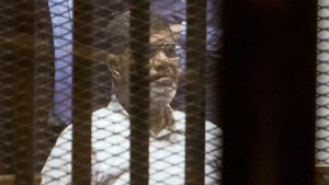Morsi still faces the death penalty in at least two of his other trials [AFP]