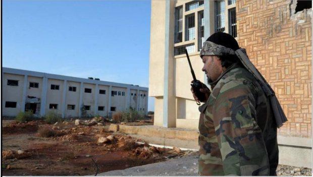 Saiqa Special Forces officer Fadel Al-Hassi