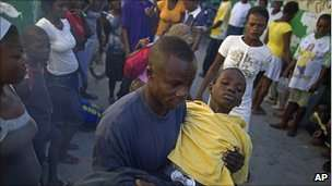 Fears are growing of a major outbreak in Port-au-Prince
