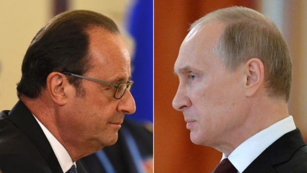 Mr Putin was due to visit Paris later this month