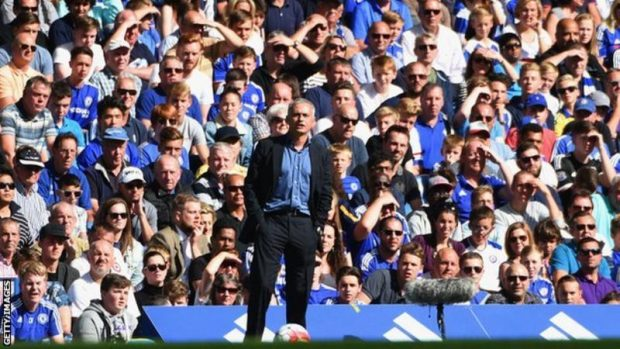 Mourinho had two successful spells as manager of Chelsea before his sacking in December 2015
