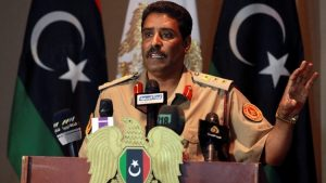 The spokesman of Khalifa Haftar's Operation Dignity, Ahmed Al-Mismari