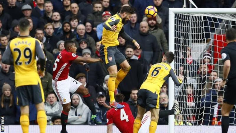 Olivier Giroud's 89-minute header ensured Arsenal remain unbeaten in all competitions since their opening day defeat by Liverpool