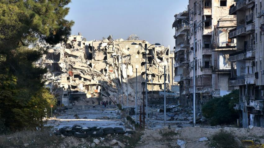 Aleppo is in a state of confusion and fear [AFP]