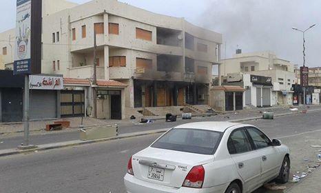 MoneyGram Center set ablaze by clashes over money transfers
