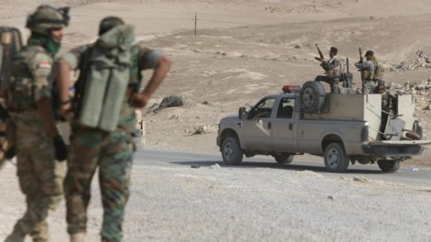 Federal police forces were involved in operations around Qayyarah in late October