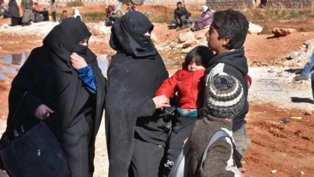 Several thousand civilians are reported to have fled eastern Aleppo in the last few hours
